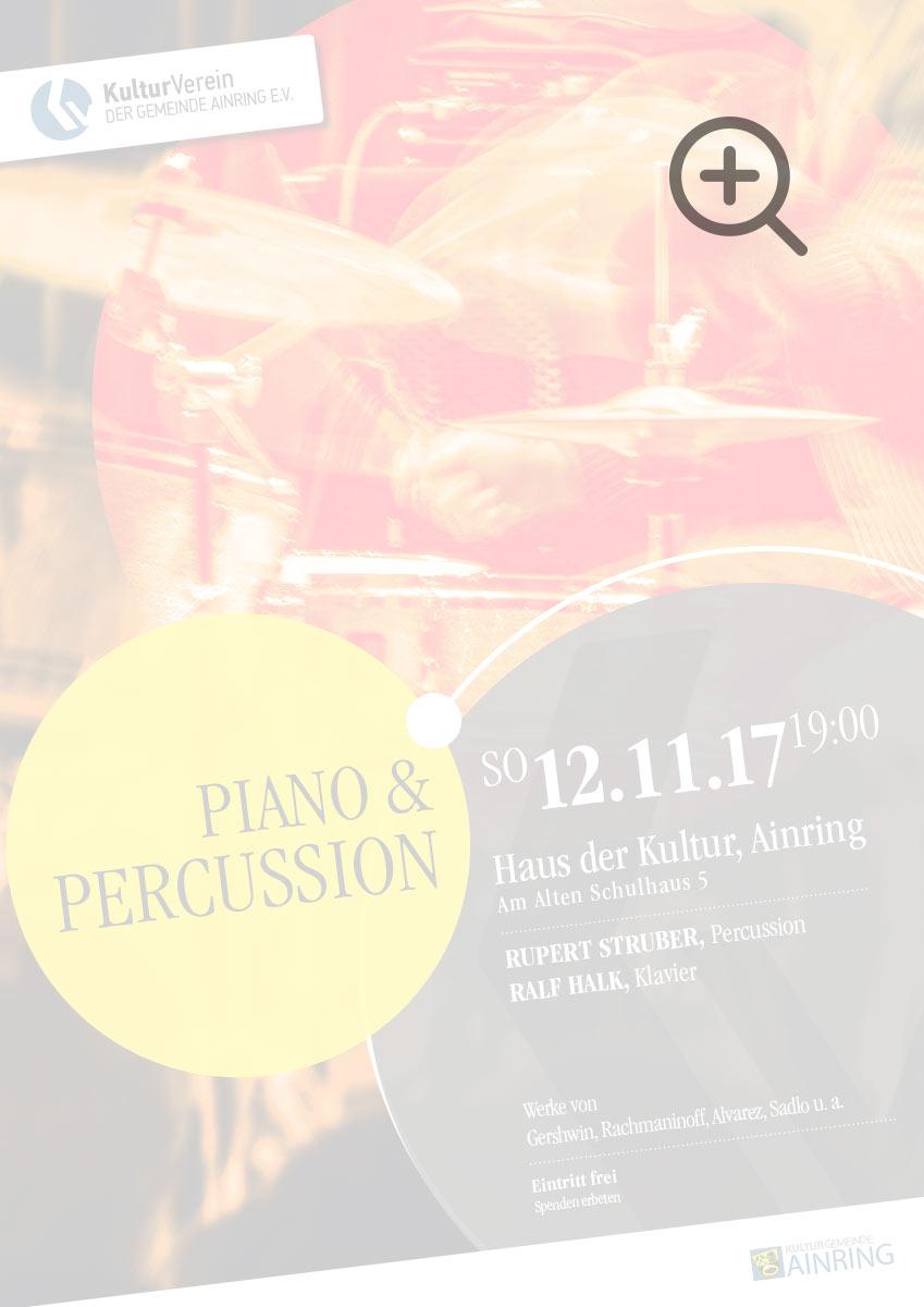 Piano und Percussion
