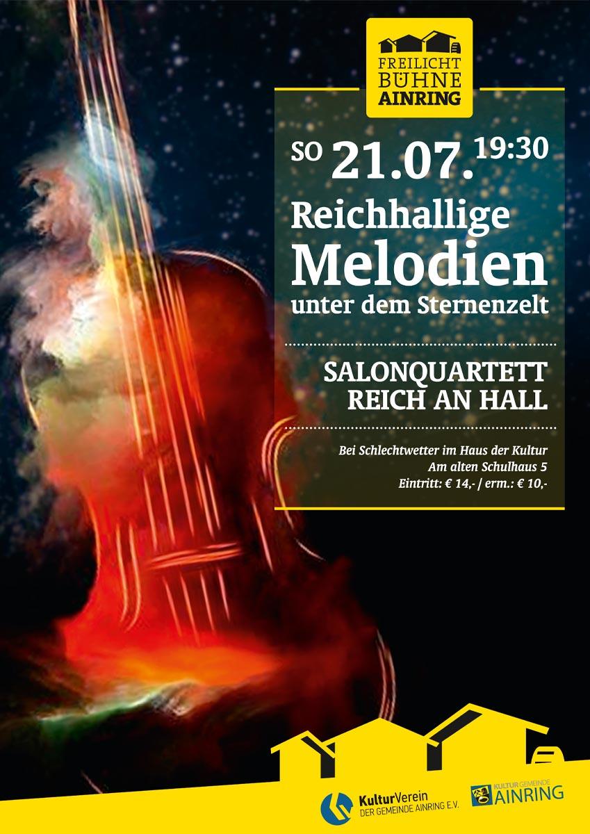 KVA Plakat Reichhallige-Melodien