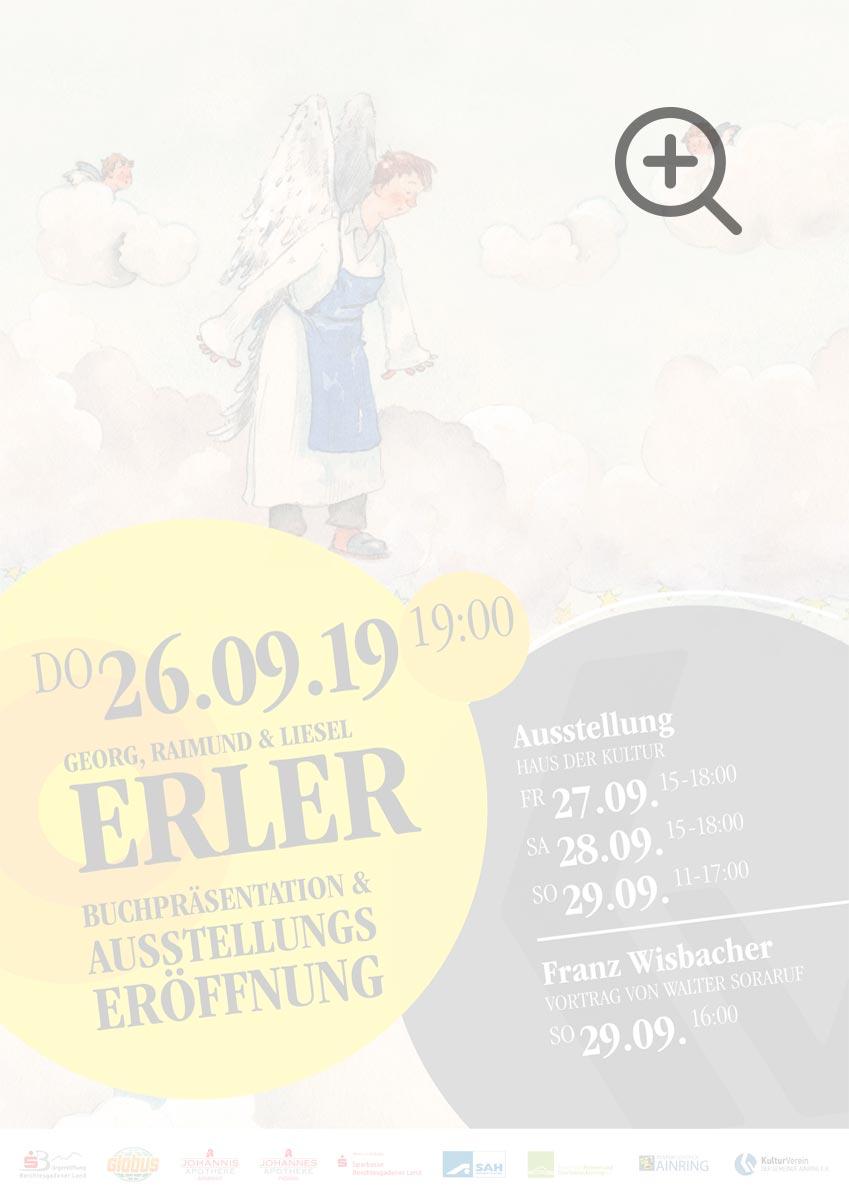 Buchpräsentation & Ausstellungseröffnung Erler